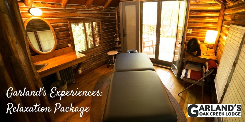 The Relaxation Package at Garland's Lodge is what you need to relax in Sedona.