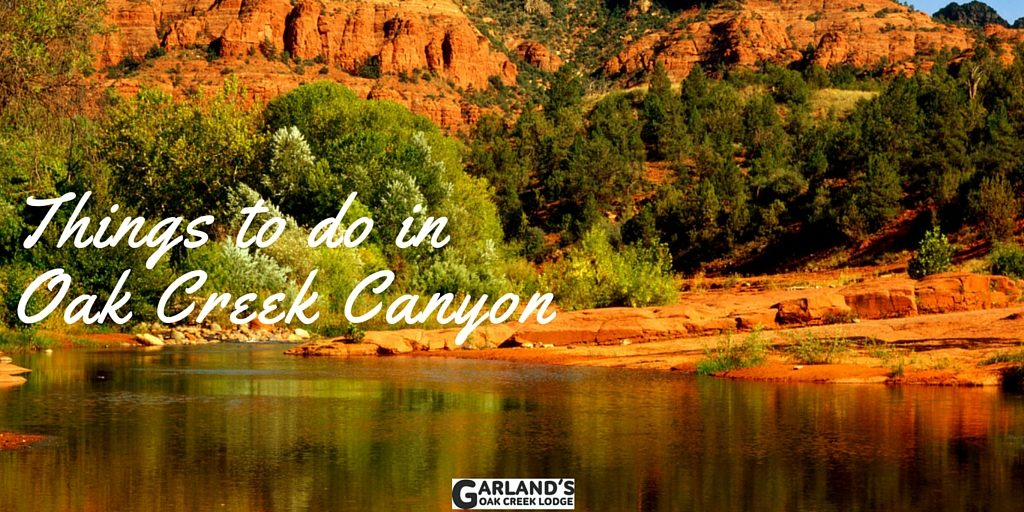 Things to do in oak creek canyon orchard canyon on oak creek for Cabins in oak creek canyon