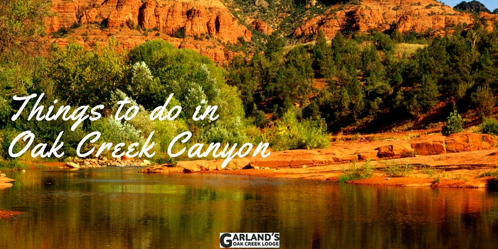 Oak Creek Canyon in Sedona is a beautiful area full of fun things to do! Here are a few of our favorites.