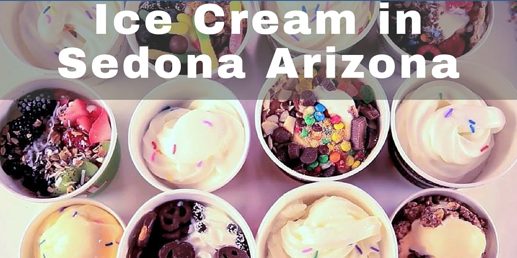 Arizona is hot! Here's where to find the best ice cream in Sedona to cool you off.