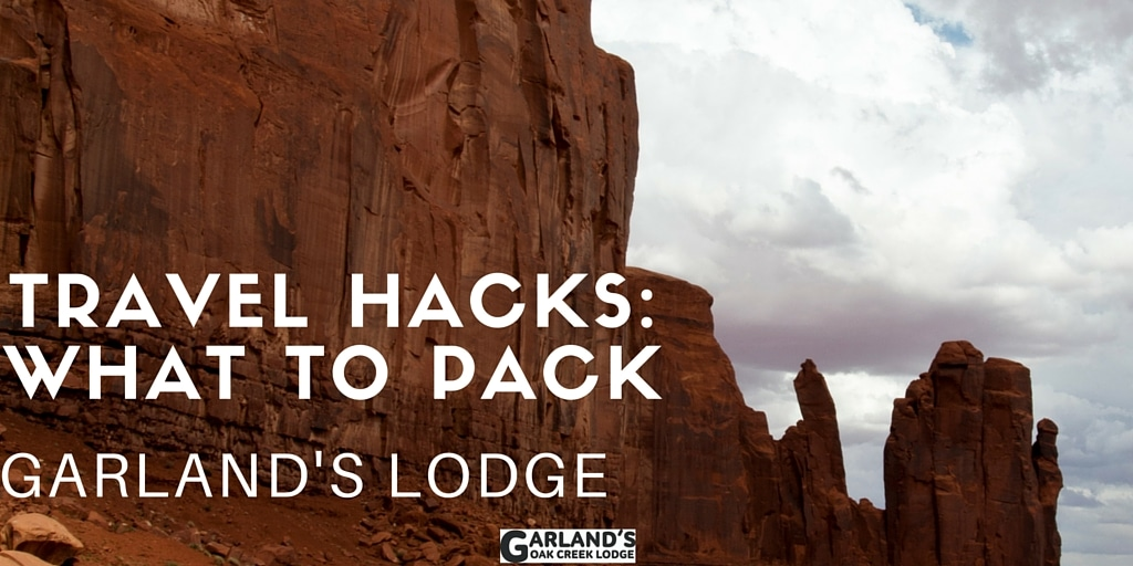 Travel Hacks What to Bring Glamping at Garland's Lodge Featured
