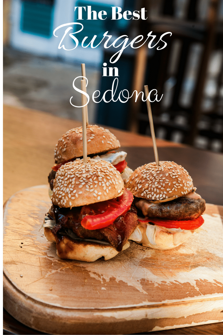 If you're looking for the best burgers in Sedona, Arizona, fear not! You won't have to look too far, there are plenty of great burgers all around!