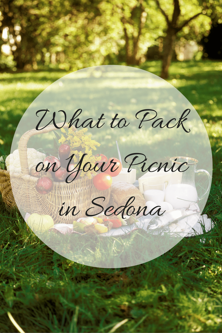 Heading to Sedona for a picnic can be fun and exciting. Check out this list of what to pack for your picnic in Sedona so you're ready to go for lots of fun!