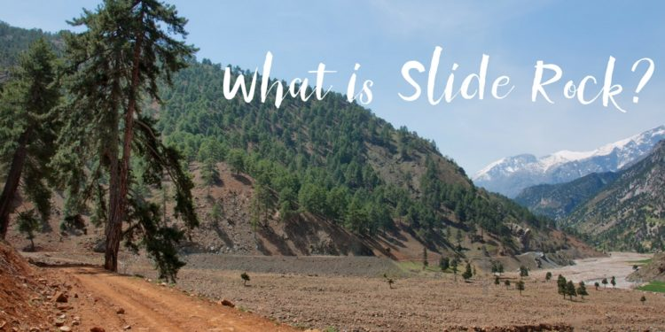 Slide Rock is an exciting and entertaining element of the state park, it's also a rich historical location! Check out the hiking path or jump on in!